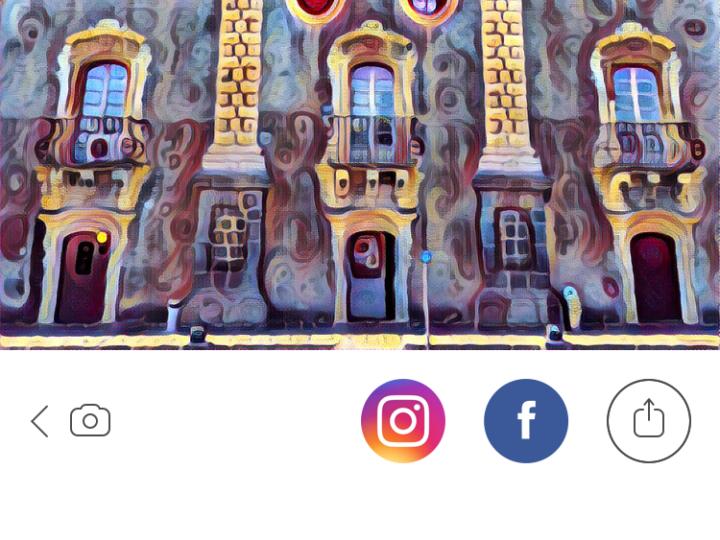 Prisma, la nuova app che trasforma le foto in quadri