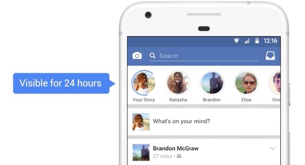 Facebook Stories: i contenuti a tempo per tutti